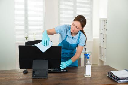 Nettoyage de bureau